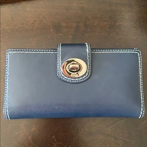 BLUE COACH WALLET! BARELY USED!!!